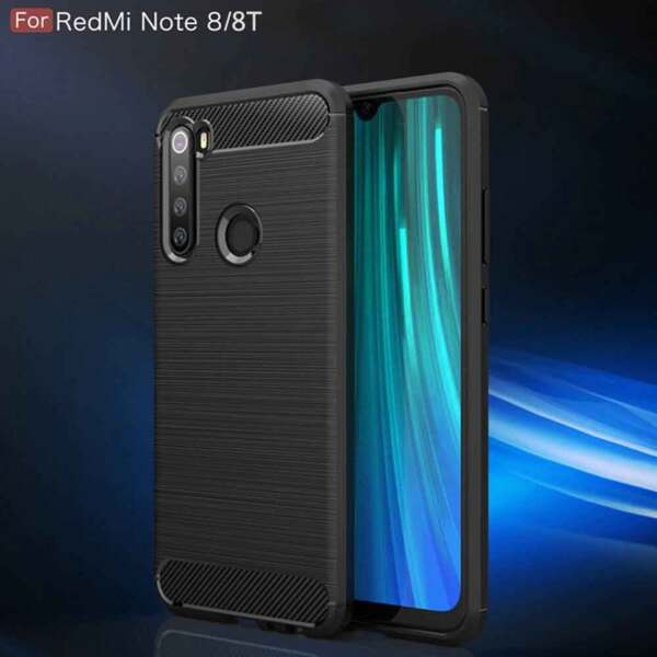 Хибриденсиликоновкейс /калъф Forcell Carbon Case за Xiaomi Redmi Note 8T