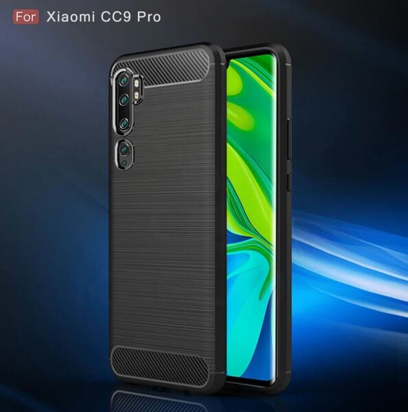 Хибриденсиликоновкейс /калъф Forcell Carbon Case за Xiaomi Mi Note 10