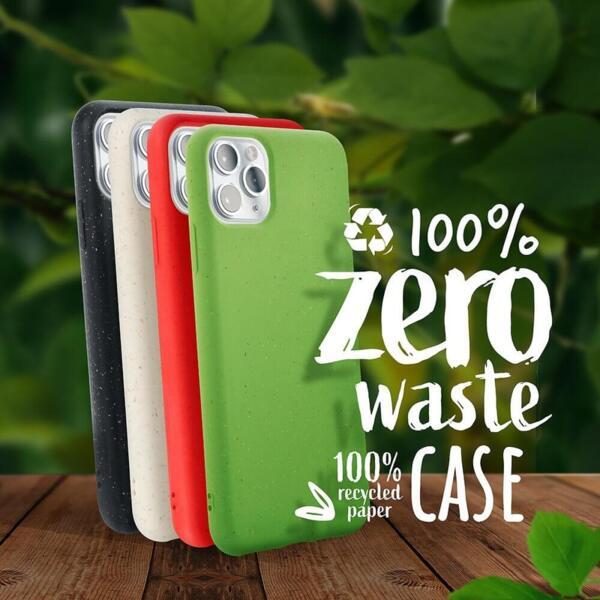 Биоразградим еко калъф / кейс Zero Waste Case за iPhone 11 Pro бял