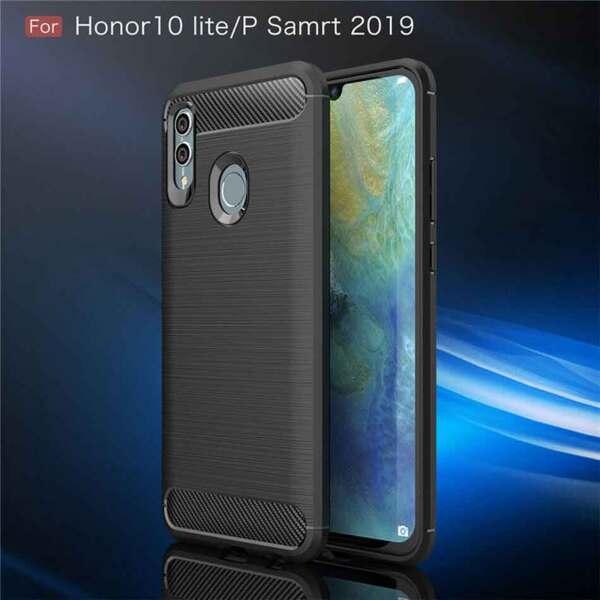 Хибриденсиликоновкейс /калъф Forcell Carbon Case за Huawei Honor 10 Lite