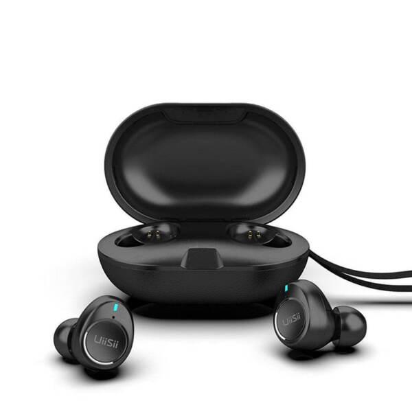 Безжични Bluetooth Stereo слушалки UiiSii TWS60 (черни)