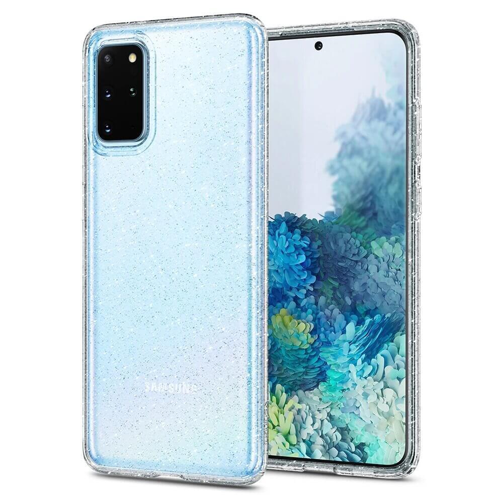 Оригинален кейс / калъф за Samsung Galaxy S20+ PlusSpigenLiquid Crystal® Glitter