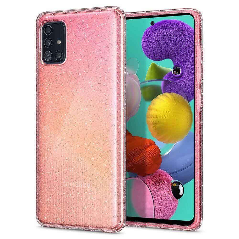 Оригинален кейс / калъф за Samsung Galaxy A71SpigenLiquid Crystal® Glitter