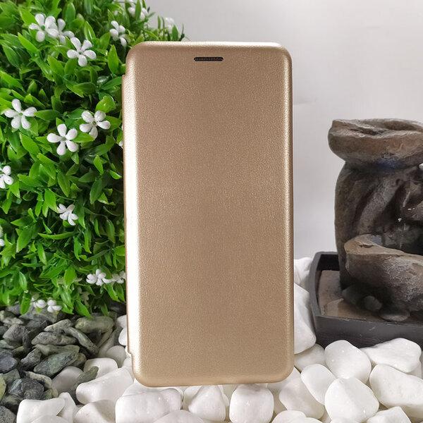 Калъф тефтерBook EleganceзаSamsung Galaxy a21s злато