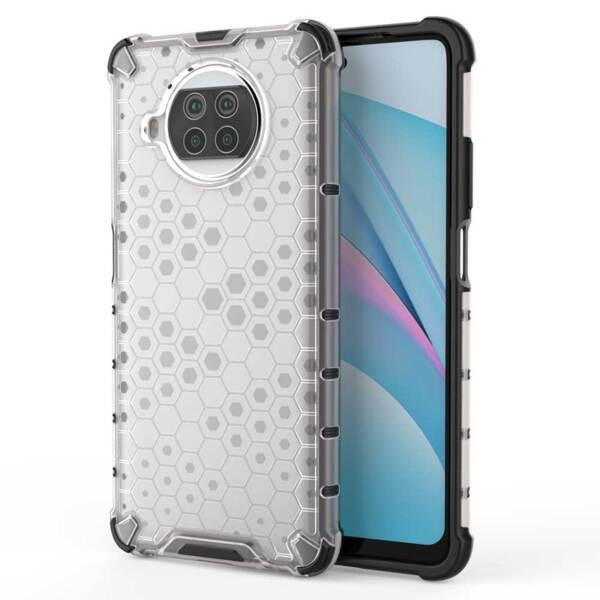 Противоударен кейс / калъф Honeycomb за Xiaomi Mi 10T Lite прозрачен