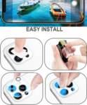 Стъклен протектор за камерата на iPhone 11 Pro Max