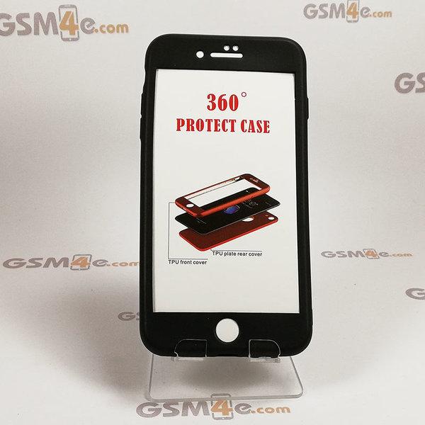 Iphone 7 Plus/8 Plus - Луксозен силиконов 360 градусов калъф / кейс с нано протектор