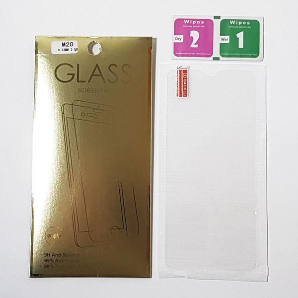 Samsung Galaxy M20 - Противоударен стъклен протектор Tempered Glass