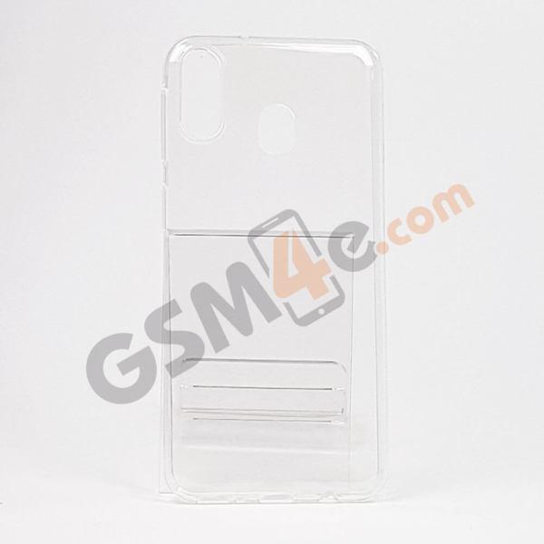 Прозрачен силиконов кейс / гръб / калъф за Samsung Galaxy M20