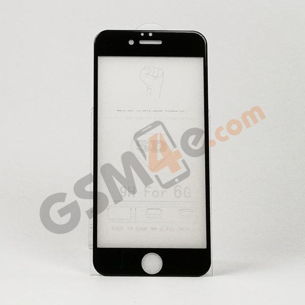 Стъклен протектор 5D Full Glue за iPhone 6 / 6s черен