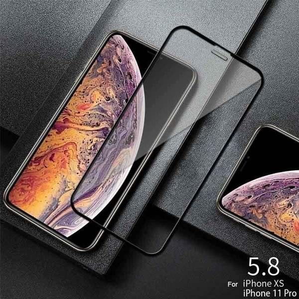 Стъклен протектор 5D Full Glue за iPhone X / Xs