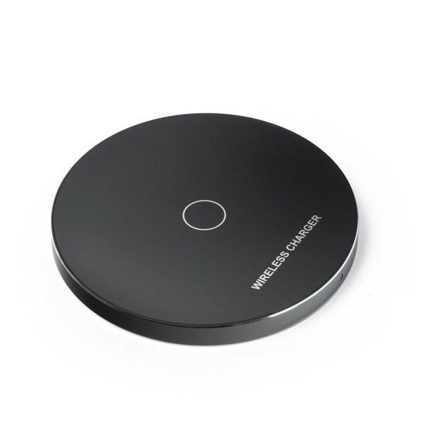 Бързо безжично зарядно устройство (Qi стандарт) модел KD01 - черен