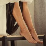 Crown Anklets Set
