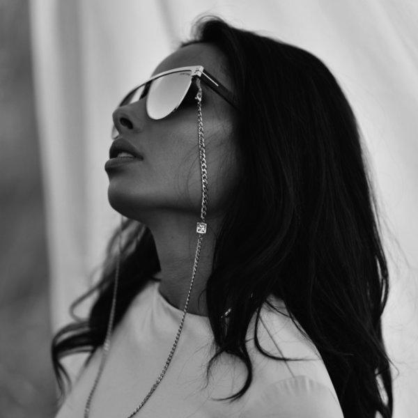 Eyeglass chain Crystal