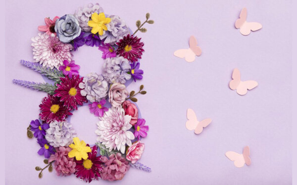 10 пожелания за 8 март