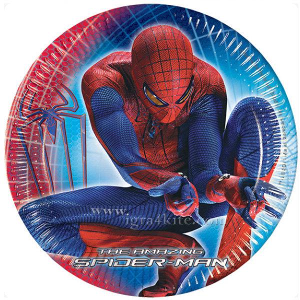 Procos - Spiderman Спайдърмен Парти Чинийки