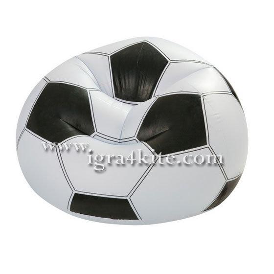 Intex - Детски надуваем стол Футбол 68557