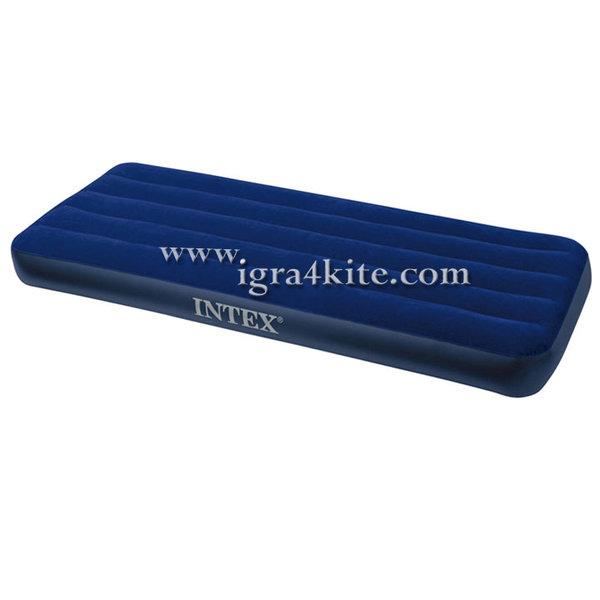 Intex - Надуваем единичен матрак Дауни 68950