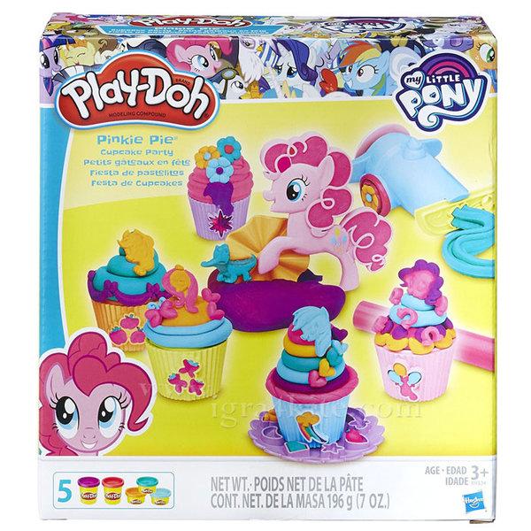 PlayDoh - Комплект Моето малко Пони Парти с кексчета b9324