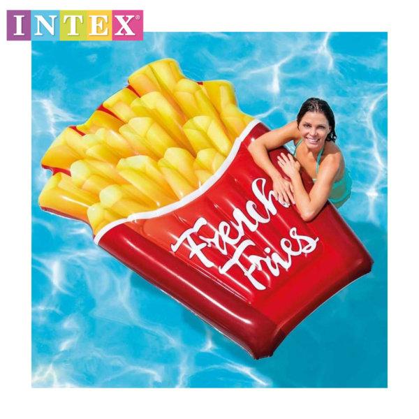 Intex - Надуваем дюшек Пържени картофки 58775