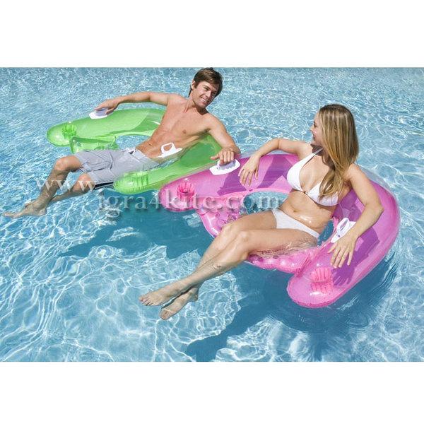 Intex - Надуваемо кресло за плаж 58859