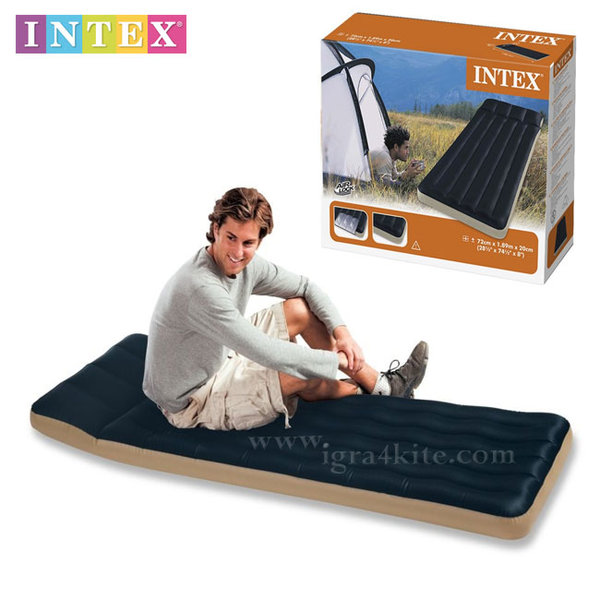 Intex - Надуваем матрак Къмпинг 68798