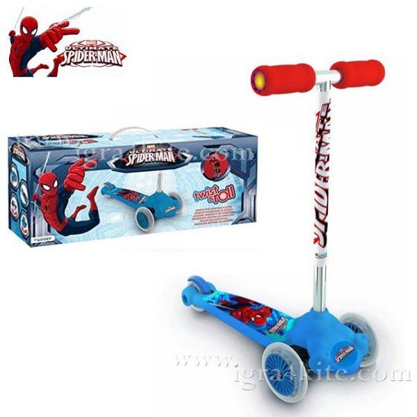 Mondo - Скутер Twist And Roll Spiderman 18395