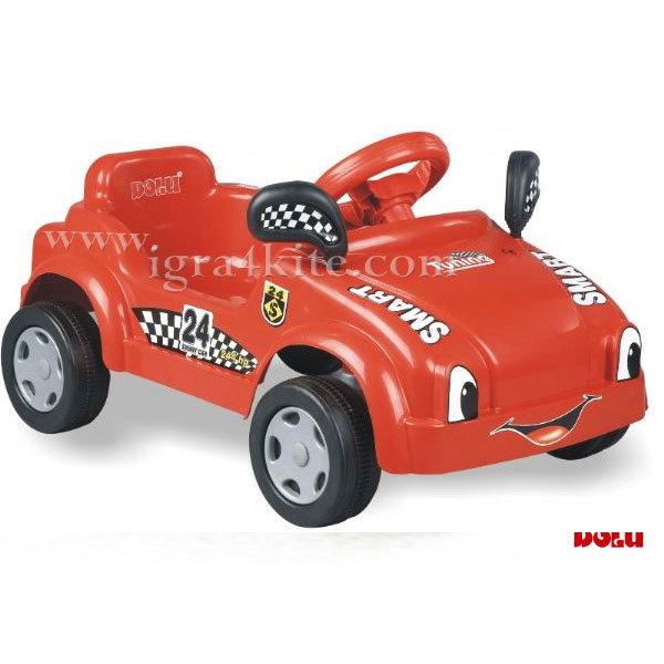 Dolu - Кола с педали Smart червена 8019/8119