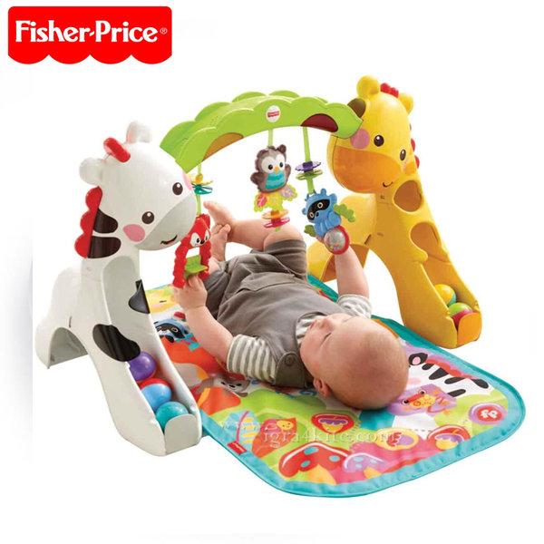 Fisher Price - Активна гимнастика Жирафче 3в1 CCB70