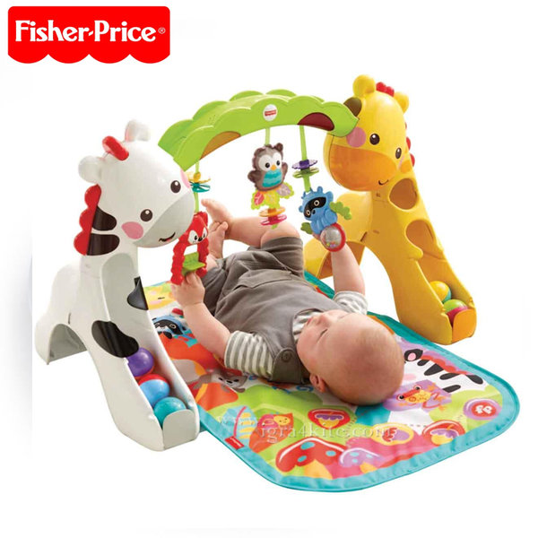 Fisher Price - Активна гимнастика Жирафче 3в1 CCB70