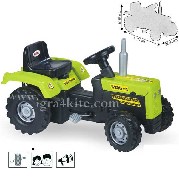 Dolu - Трактор с педали 8050