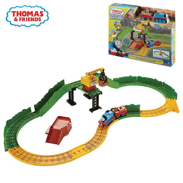 Fisher Price - Влакчето Томас Железопътно трасе Станция за събиране на отпадъци dgc08