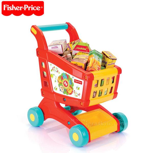 Fisher Price - Количка за пазаруване 65121/1806