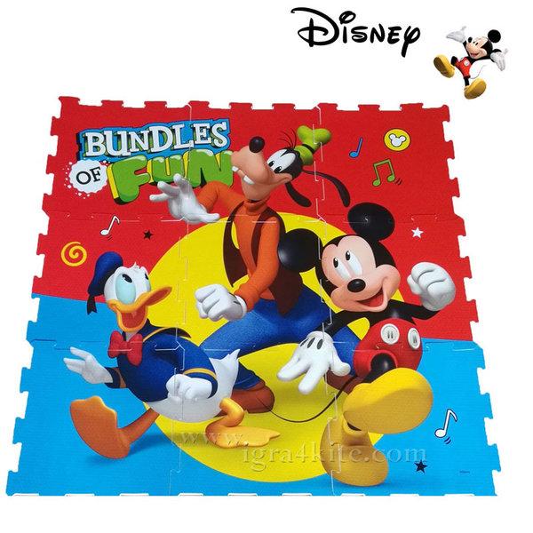Disney - Мек килим - пъзел Мики Маус 1027-01256