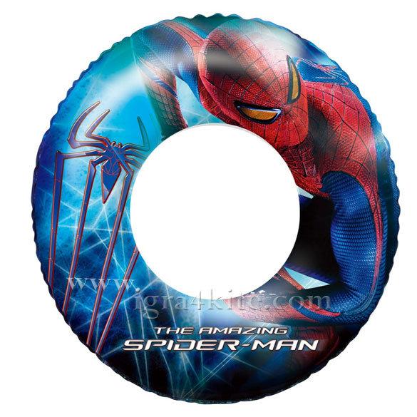 Bestway - Детски надуваем пояс Spiderman 98003