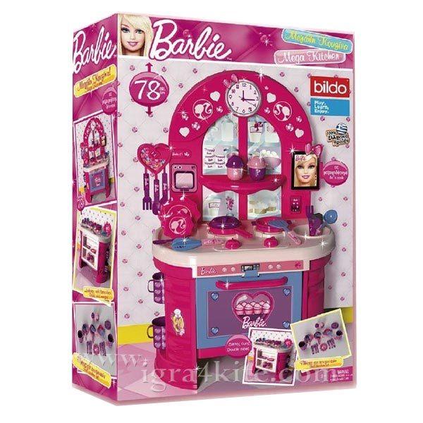 Barbie - Кухнята на Барби 78 см 12017