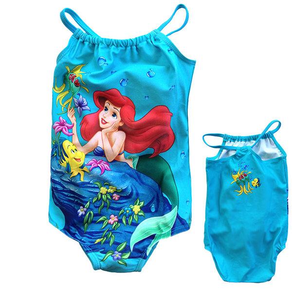 Disney Princess - Детски бански Дисни Ариел 1/2 г 655043