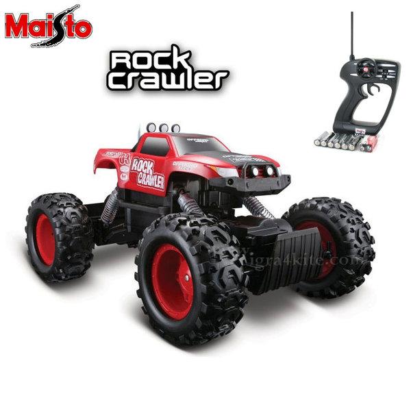 Maisto Tech - Джип Rock Crawler с дистанционно управление червен 81152