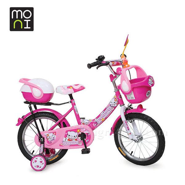 """Moni - Детски велосипед 16"""" 1682 циклама 101000"""