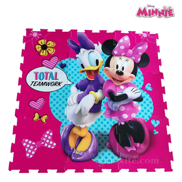Disney - Мек килим - пъзел Мини Маус 1027-01255
