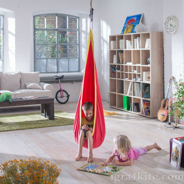 Детска висяща люлка Червено око 1010195