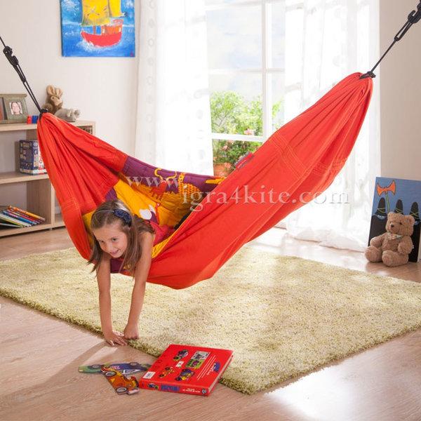 Хамак Висяща детска люлка 2в1 Африка 0946195