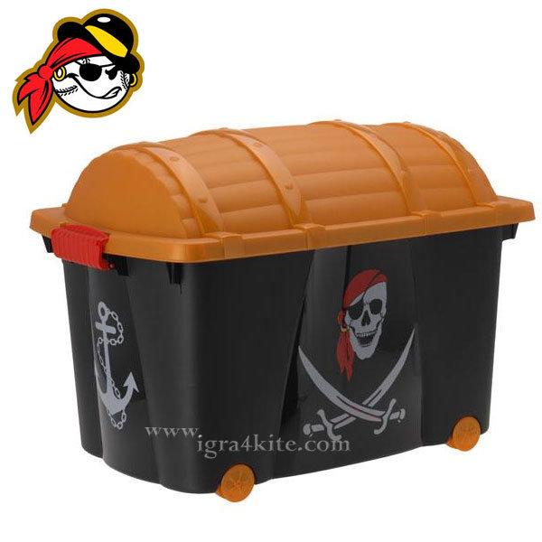 Сандък - Кош за играчки Пирати 2125