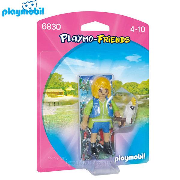 Playmobil - Дресьор на животни с какаду 6830