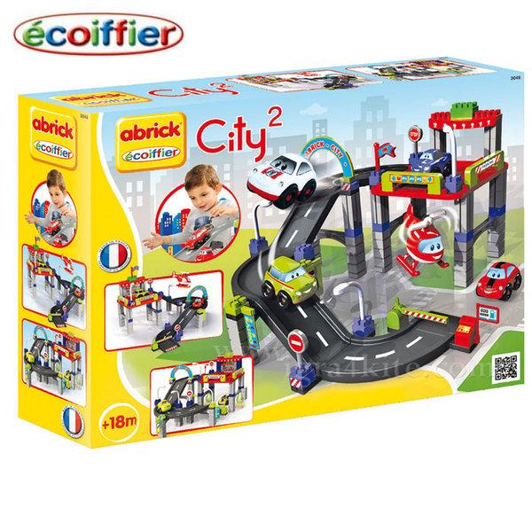 Ecoiffier - Детски строител City Голям гараж с автосервиз 3048