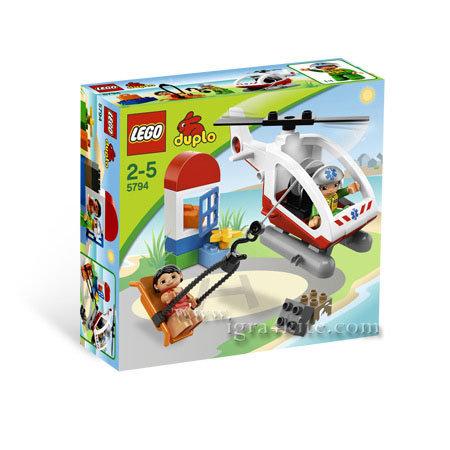 Lego 5794 DUPLO® - Спасителен хеликоптер