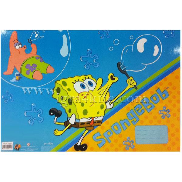 SpongeBob - Блокче за рисуване със стикери