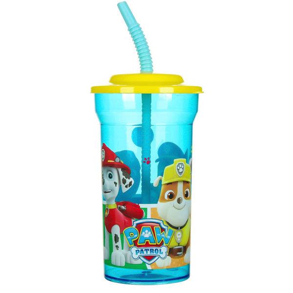 Paw Patrol - Детска чаша със сламка Пес патрул 13214