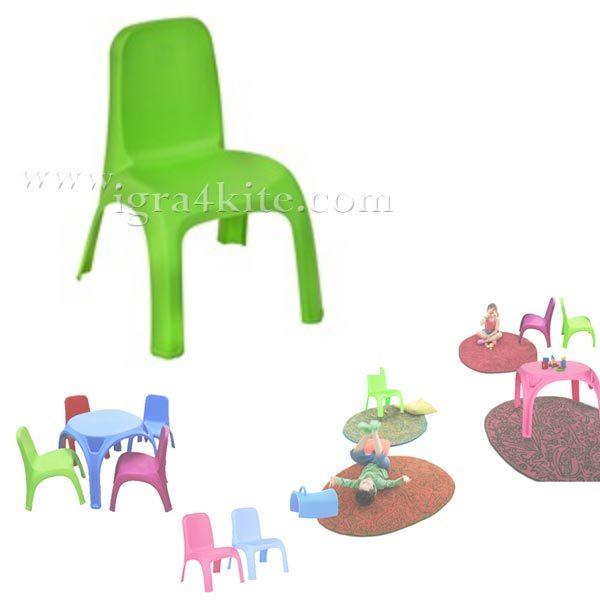 Детско столче зелено 12461