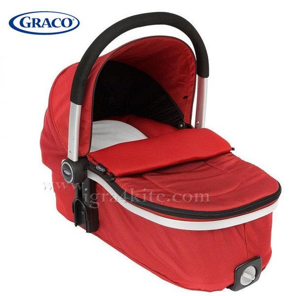 Graco - Зимен кош за новородено Carrycot Go Chilli Red GAT65CRDE
